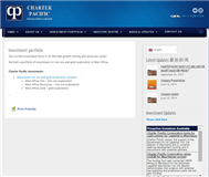 Charter Pacific Corporation Limited Website Link