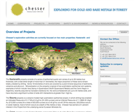 Chesser Resources Limited Website Link