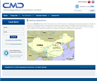 China Magnesium Corporation Limited Website Link