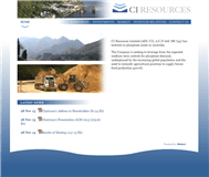 CI Resources Limited Website Link