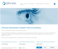 Opthea Limited Website Link
