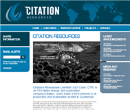 Citation Resources Ltd Website Link