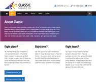 Classic Minerals Ltd Website Link