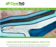 Clean TeQ Holdings Limited Website Link
