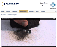 Cleveland Mining Company Limited Website Link