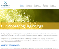 Clover Corporation Limited Website Link