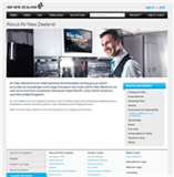 Air New Zealand Limited Website Link