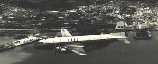 History Teal Aircraft