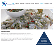 Seafarms Group Limited Website Link
