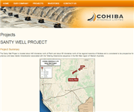 Cohiba Minerals Limited Website Link