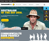 Commonwealth Bank of Australia Website Link