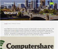 Computershare Limited Website Link