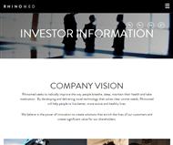 Rhinomed Limited Website Link
