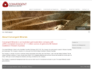 Convergent Minerals Limited Website Link