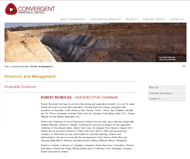 Convergent Minerals Limited Website Link