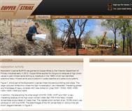 Copper Strike Limited Website Link