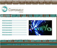 Coppermoly Limited Website Link