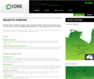 Core Exploration Limited Website Link