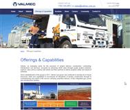 Valmec Limited Website Link
