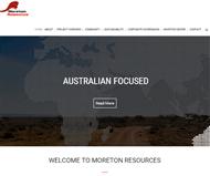 Moreton Resources Ltd Website Link