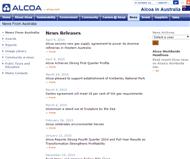 Alcoa Inc Website Link