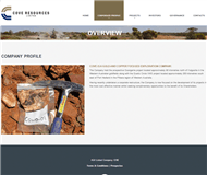 Cove Resources Limited Website Link