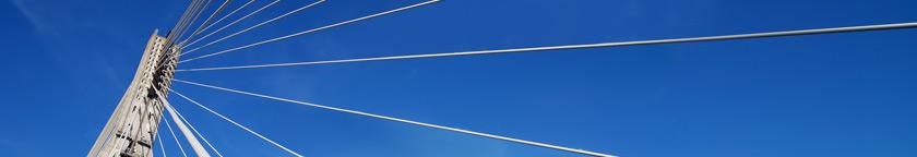 Image of Bridge supporting wires