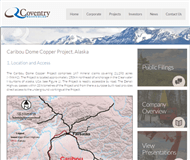 Coventry Resources Limited Website Link