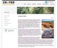 Crater Gold Mining Limited Website Link