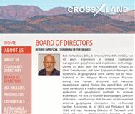 Crossland Strategic Metals Ltd Website Link