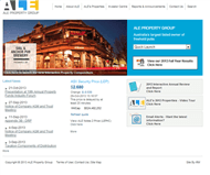 ALE Property Group Website Link