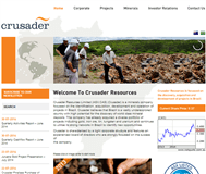 Crusader Resources Ltd Website Link