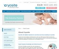 Cryosite Limited Website Link