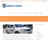 CTI Logistics Limited Website Link
