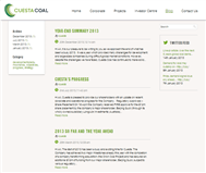 Cuesta Coal Limited Website Link