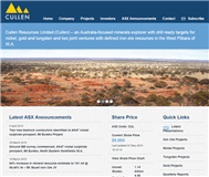 Cullen Resources Limited Website Link