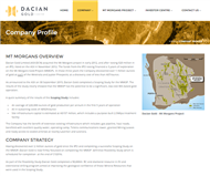 Dacian Gold Limited Website Link