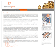Dampier Gold Limited Website Link