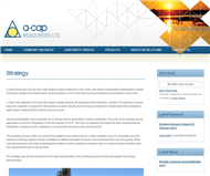 A-Cap Resources Limited Website Link