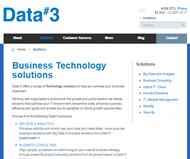 Data#3 Limited Website Link