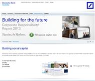 DEUTSCHE BANK AG -REG Website Link
