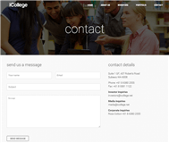 iCollege Limited Website Link