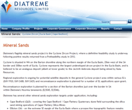 Diatreme Resources Limited Website Link