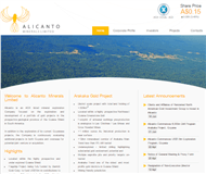 Alicanto Minerals Limited Website Link