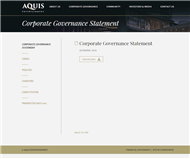 Aquis Entertainment Limited Website Link
