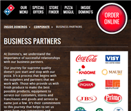 Domino's Pizza Enterprises Limited Website Link