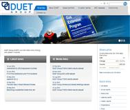 Duet Group Website Link