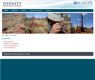 Dynasty Resources Limited Website Link