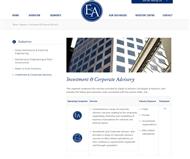 E & A Limited Website Link