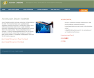 Acorn Capital Investment Fund Limited Website Link